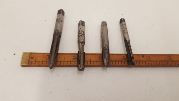 "Job lot of 4 Tap & Die Threading three 5/16"" & one 1/4"" Boxed 22651"