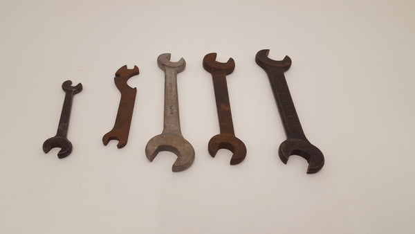 Mixed Bundle of 5 Spanners 3/16 - 5/8 22642