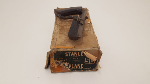 Rare Stanley 50 Plane Sweet Heart Japanned In Box Plus BLUE Box Cutters 23438