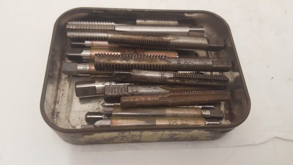 Vintage Tin of Assorted Taps 23764