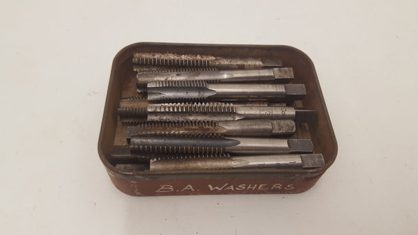 Vintage Tin of Assorted Taps 23762
