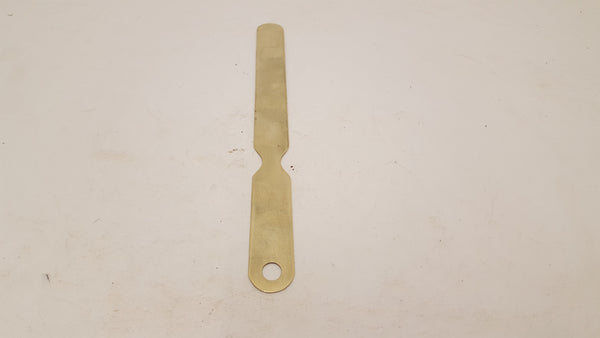 "10 1/4"" Brass Paper Creasing Tool 24047"