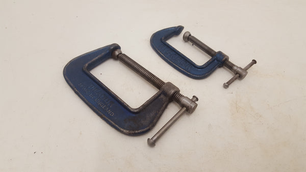 Pair of Small Vintage Picardo 482 & 482 1/2 G Clamp 24400
