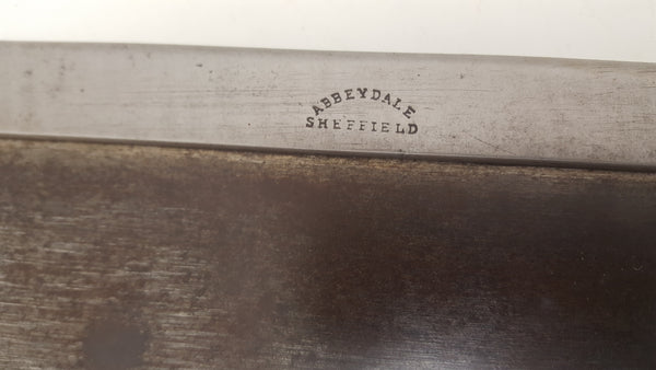 "Vintage 14"" Budget Line from Tyzack Steel Back Saw w 8 TPI 24619"