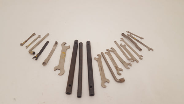 Mixed Job lot of Various Bike Spanners 24797