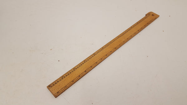 "13"" Imperial Vintage Wooden Rule 25053"