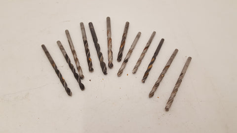 Job lot of Assorted Drill Bits in Vintage Tobacco Tin 25143