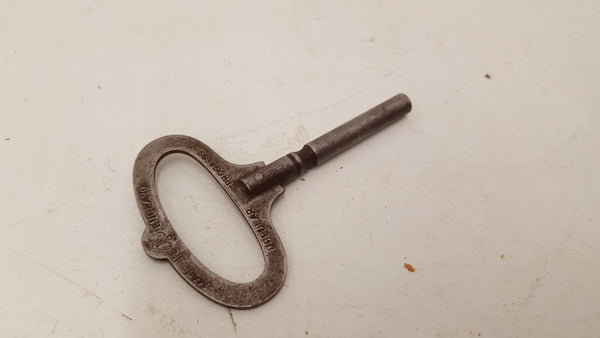 Small #4 Vintage Clock Key 25130