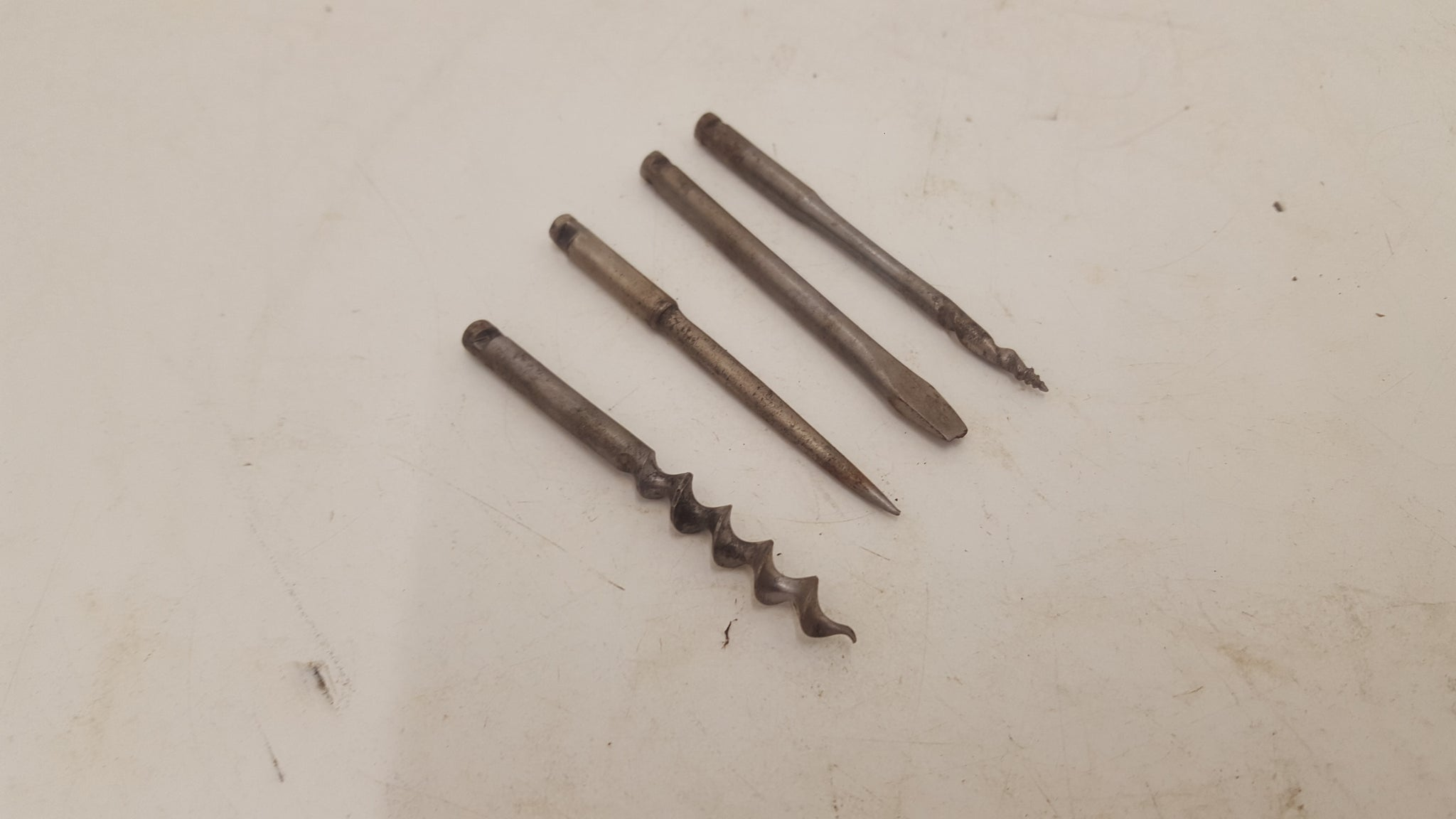 Small Mixed Set of 4 Vintage Archimedes Drill Bits 25336
