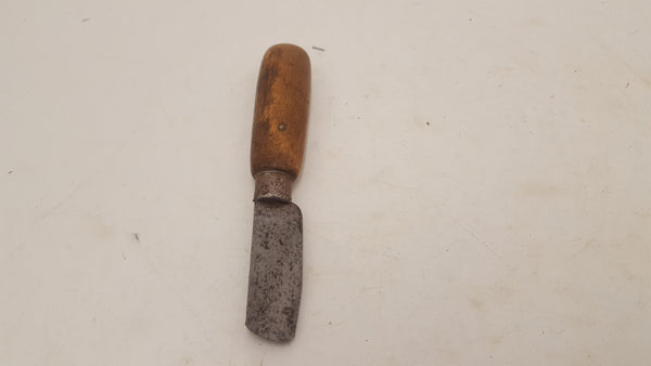 "Vintage 2 1/2"" Leather Workers Tool 25481"
