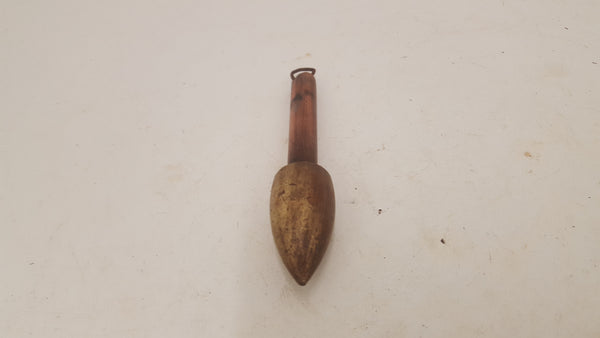 Vintage 7oz Brass & Copper Plumb Bob 25501