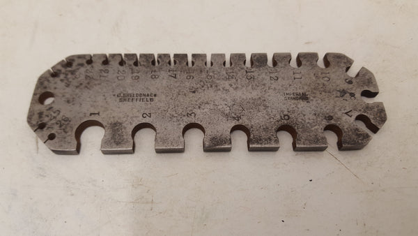 "5"" J Sheldon & Co Drill Bit Gauge 25940"