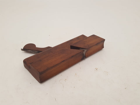 "Small 7"" Vintage Hollow Moulding Plane 26432"