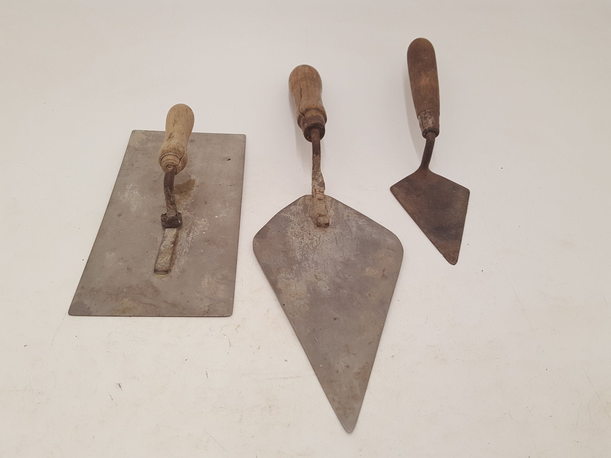 Set of 3 Vintage Bricklayers Trowels 26480