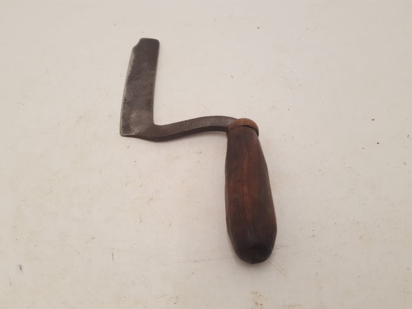 "Unusual 5"" Vintage Herb Cutting Tool Chipped End 26466"