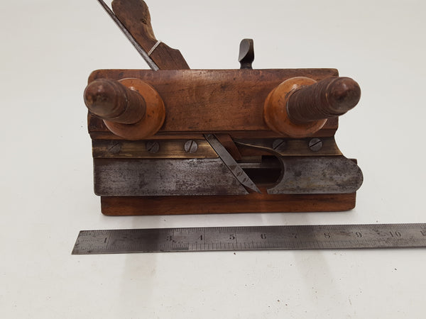 Incredible D Malloch & Sons Perth Tranditional Wooden Plough Plane 26629