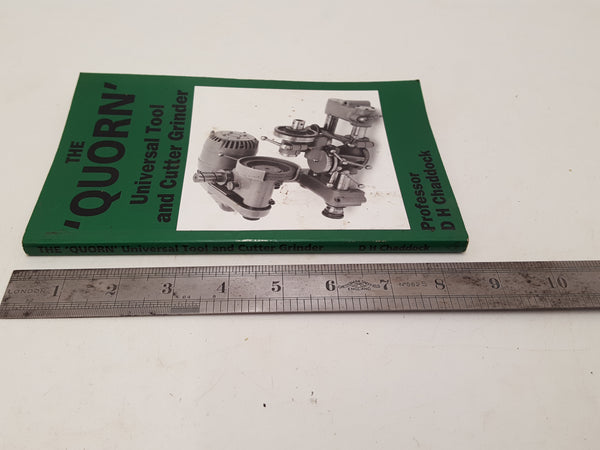 The Quorn Universal Tool & Cutter Grinder Book 26912