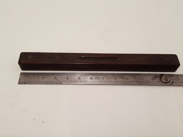 "Incredible 13"" All Rosewood Unique Spirit Level 26975"