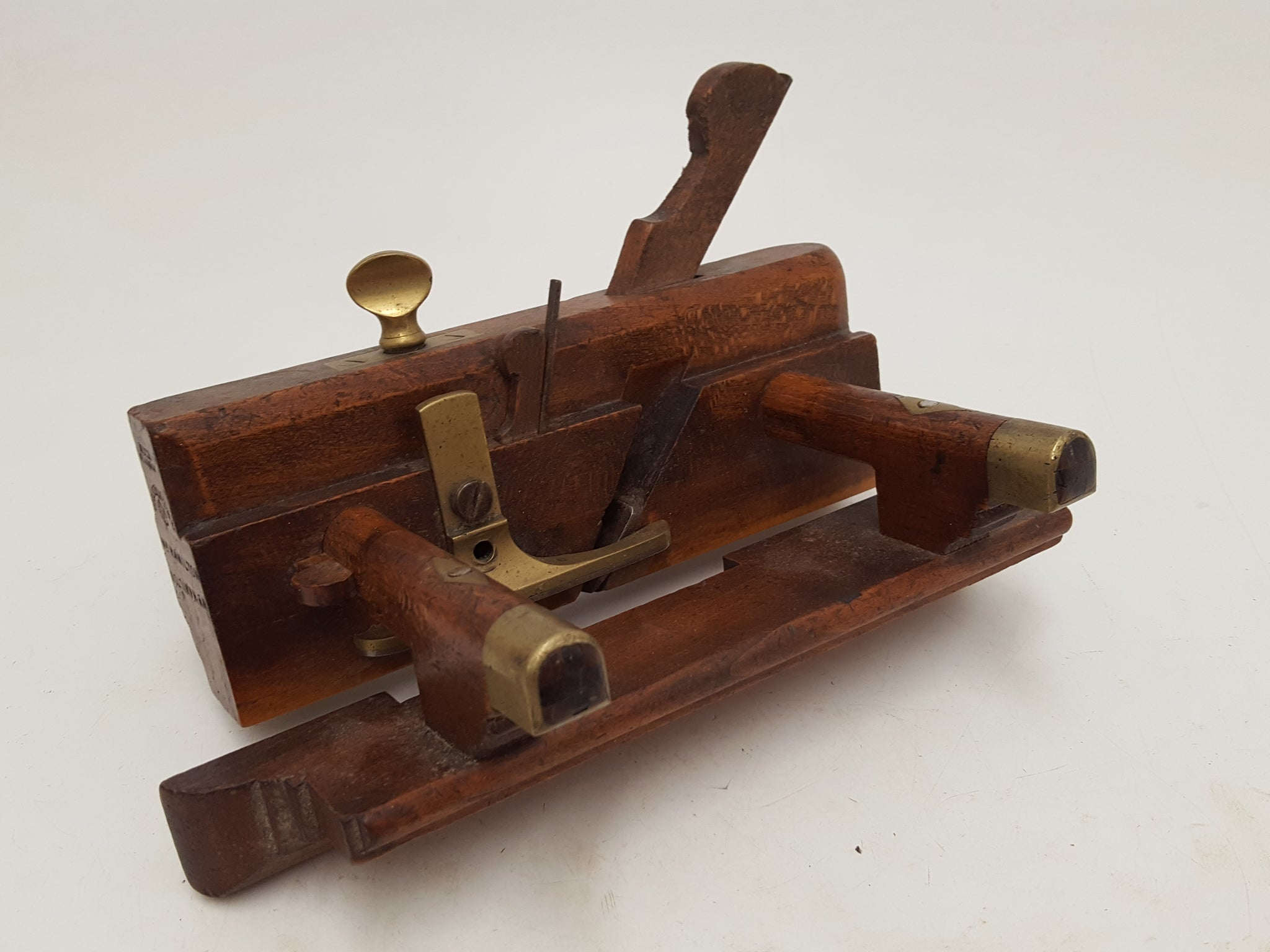 Triple Boxed / Dovetailed Moir Glasgow Sash Fillister Plane 26971
