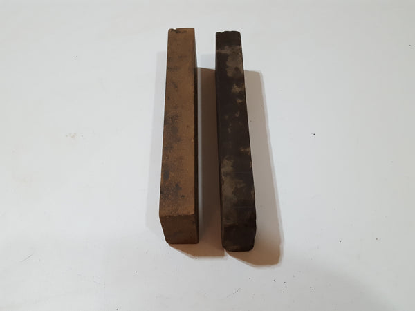 "Pair of 8 x 2"" Vintage Sharpening Stones 27636"