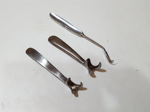 Bundle of 3 Antique Surgeons Tools 27756