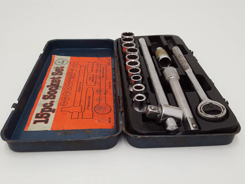 Part Socket Set Af Sizes in Case 29003