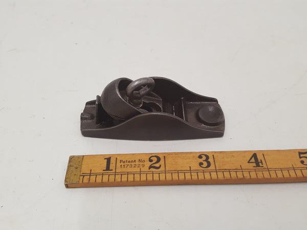 "Tiny 3 1/4"" Vintage Hobbies Thumb Plane w 1"" Mouth 29242"