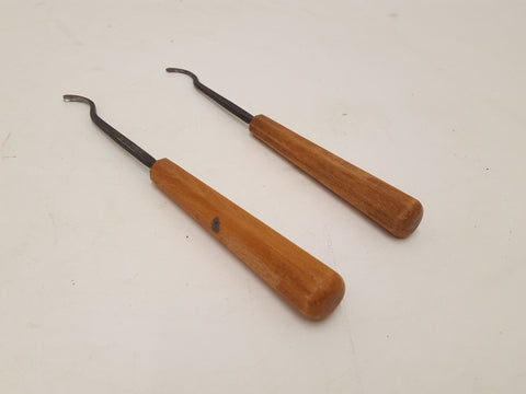 Pair of Tiny JB Addis Spoon Gouges 29510