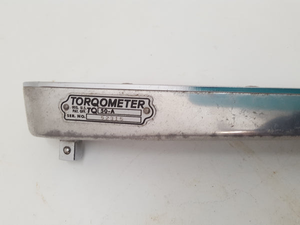 Stunning Vintage Snap On Torqometer for Measuring Bolt Nut Tension in Box 30053