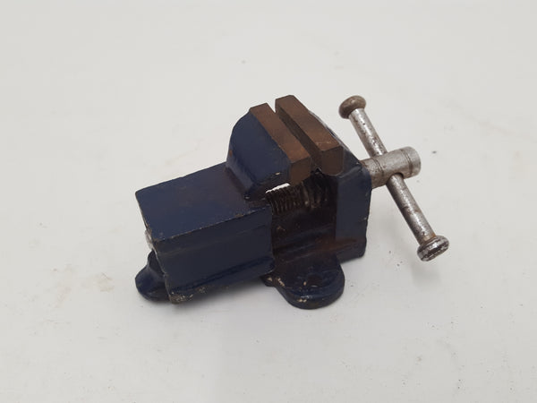 "Tiny Vintage Engineers Vice w 1 1/8"" Jaws 30156"