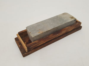 "Gorgeous 5 1/4 x 2 x 1 1/2"" White / Green Natural Oil Sharpening Stone 30577"