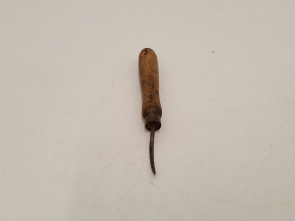 "1 3/8"" Vintage Curved Leather Working Awl 31023"