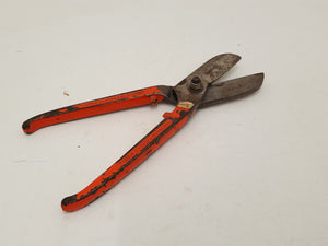 "8"" Heavy Duty Vintage Tin Snips in Plastic Sleeve 31112"