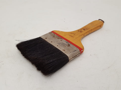 "Small 4"" Vulcanized Foreign Wall Brush 31334"