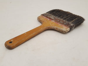 "7"" Vintage Rubber Set Wall Brush 31349"