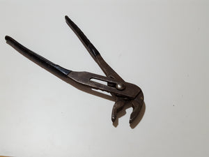 "Pair of 12"" Adjustable Pliers w Insulated Grips 33419"