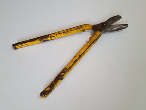 "Vintage 12"" Footprint Tin Snips 33014"