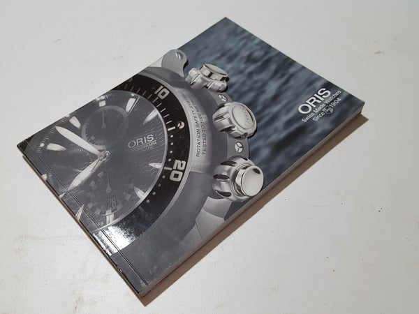 Oris Swiss Made Watches Booklet 33562