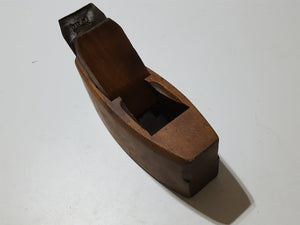 "Large 8"" Vintage Wooden Coffin Plane 33598"