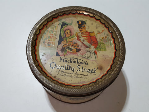Small Vintage Mackintosh Quality Street Chocolate Tin 33669