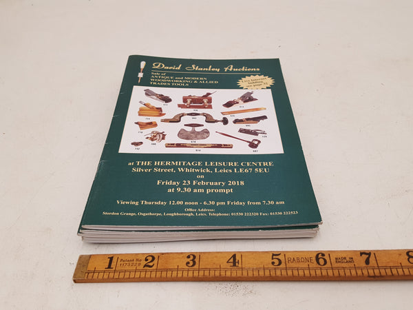 Bundle of 6 David Stanley Auctions Catalogues 34726