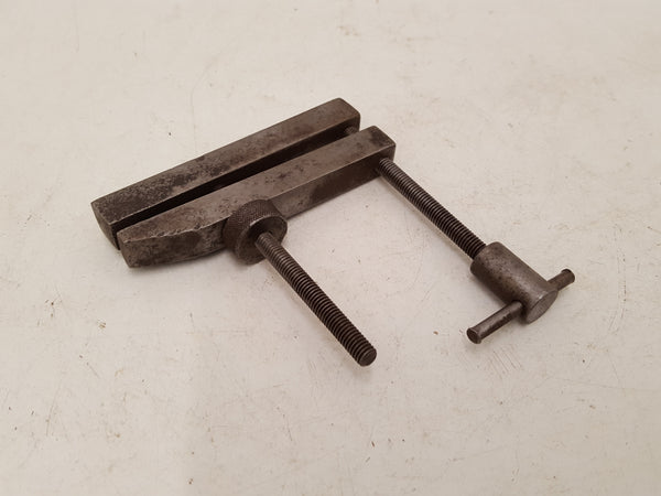 "3 1/2"" Vintage Engineers Parallel Clamp 34668"