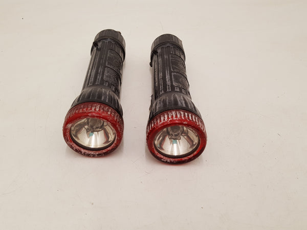 Pair of Bright Star No 1917 Torches Coast Guard Approved As Is 34766