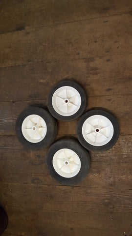 "Set of 4 Wheels 2x 7"" & 2x 8"" 35340"