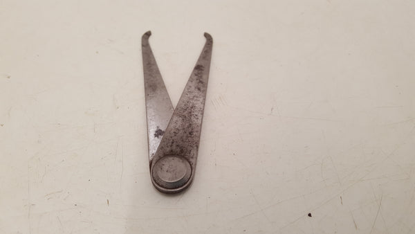 "Small 4"" Vintage Fixed Joint Outside Caliper 35180"