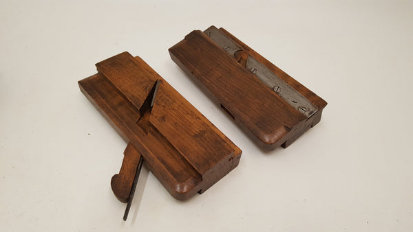 "Matched Pair of no 3 Griffiths Norwich c2"" Wide Tongue & Groove Planes 14849"