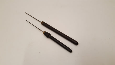 "Pair of Delicate Vintage Awls w 2 1/2"" Points 35709"