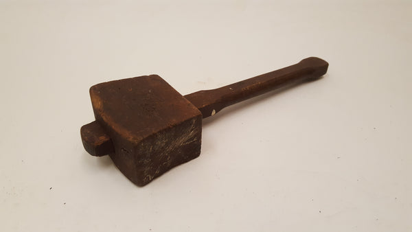 Small 9oz Vintage Carpenters Wooden Mallet 36145