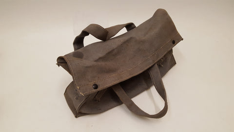 "15 1/2"" x 4"" x 8"" Vintage Canvas Tool Bag 36380"