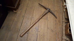 "Nice Vintage Pick Axe w 22"" Head 36525"